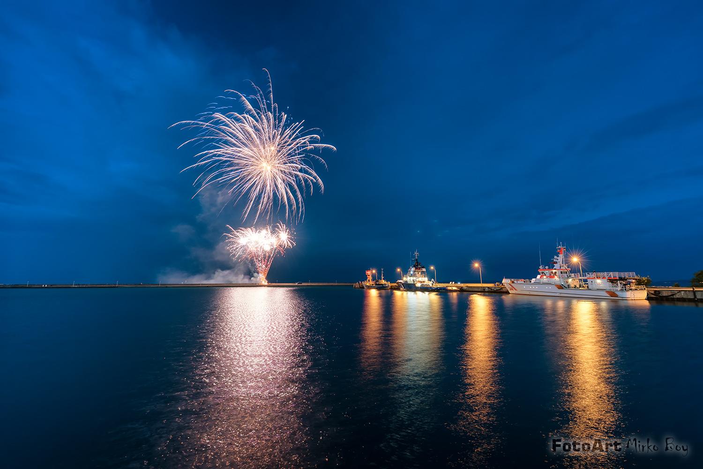 Feuerwerk Sassnitz Hafenfest - Fototouren