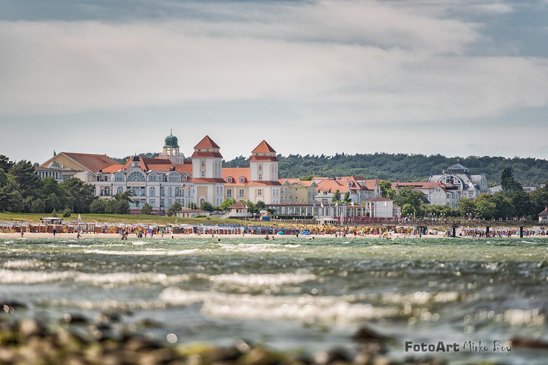 Binz Blick zum Strand - Fototouren