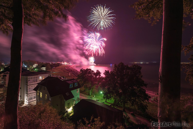 Binzblick Feuerwerk - Fototouren