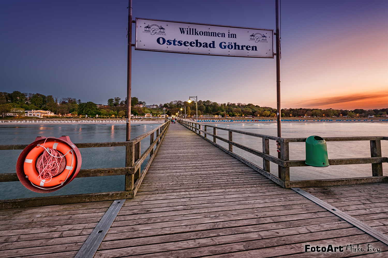 Seebrücke Göhren - Fototouren