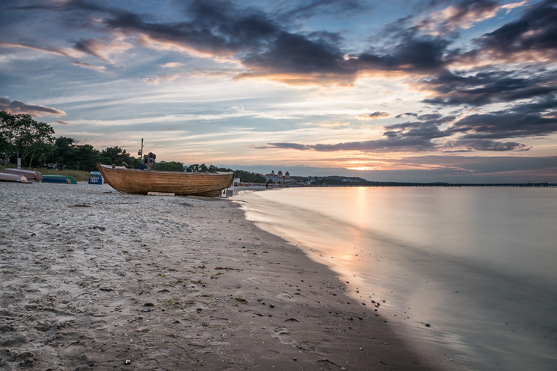 Binz Strand Abends - Fototouren