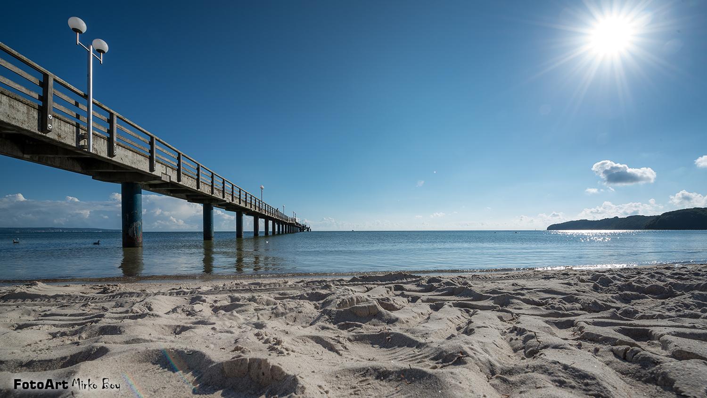 Binz Strand Seebrücke - Fototouren
