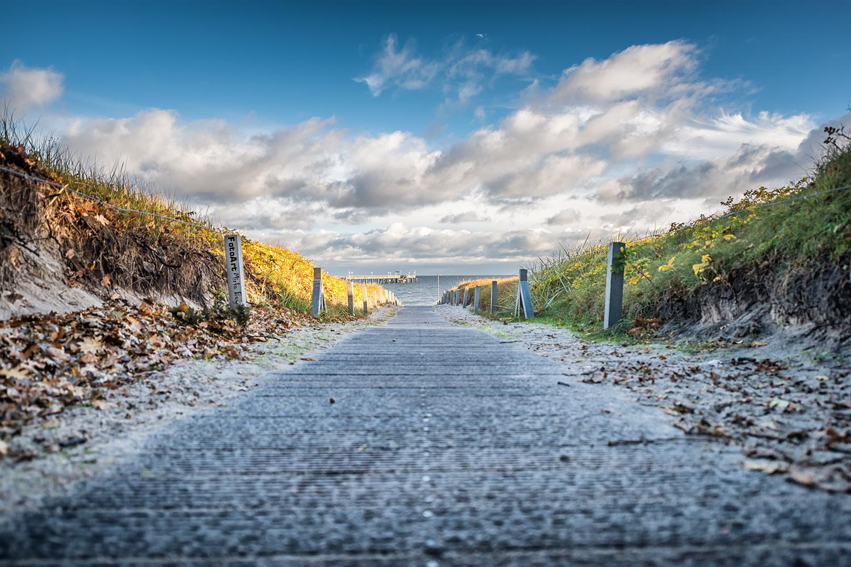 Strandweg in Binz - Fototouren