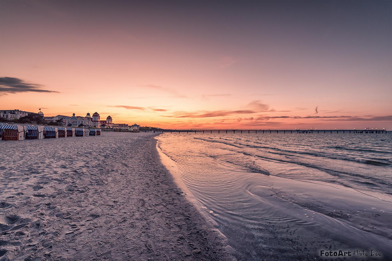 Sunset Binz Rügen - Fototouren