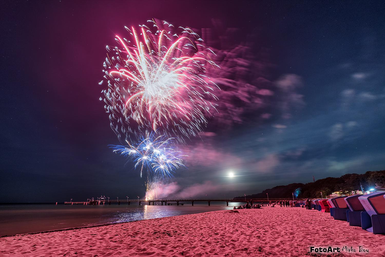 Feuerwerk Göhren - Fototouren