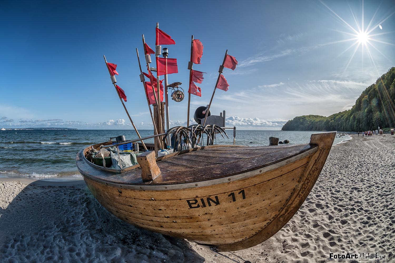Fischerboot Binz - Fototouren