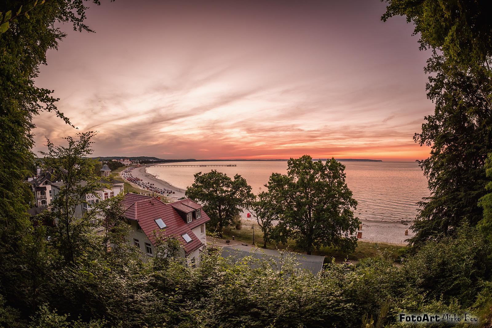 Binzblick Sonnenuntergang - Fototouren