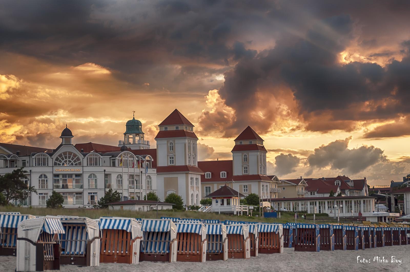 Kurhaus Binz - Sonnenuntergang - Fototouren