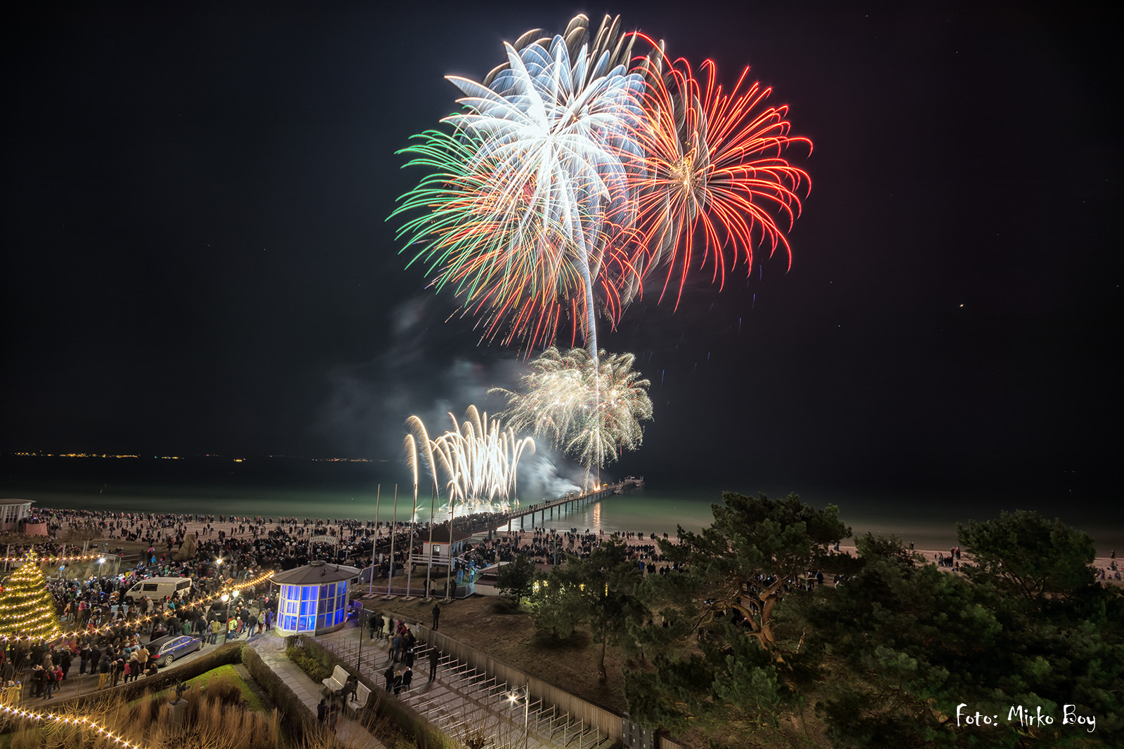 Silvesterfeuerwerk in Binz - Fototouren