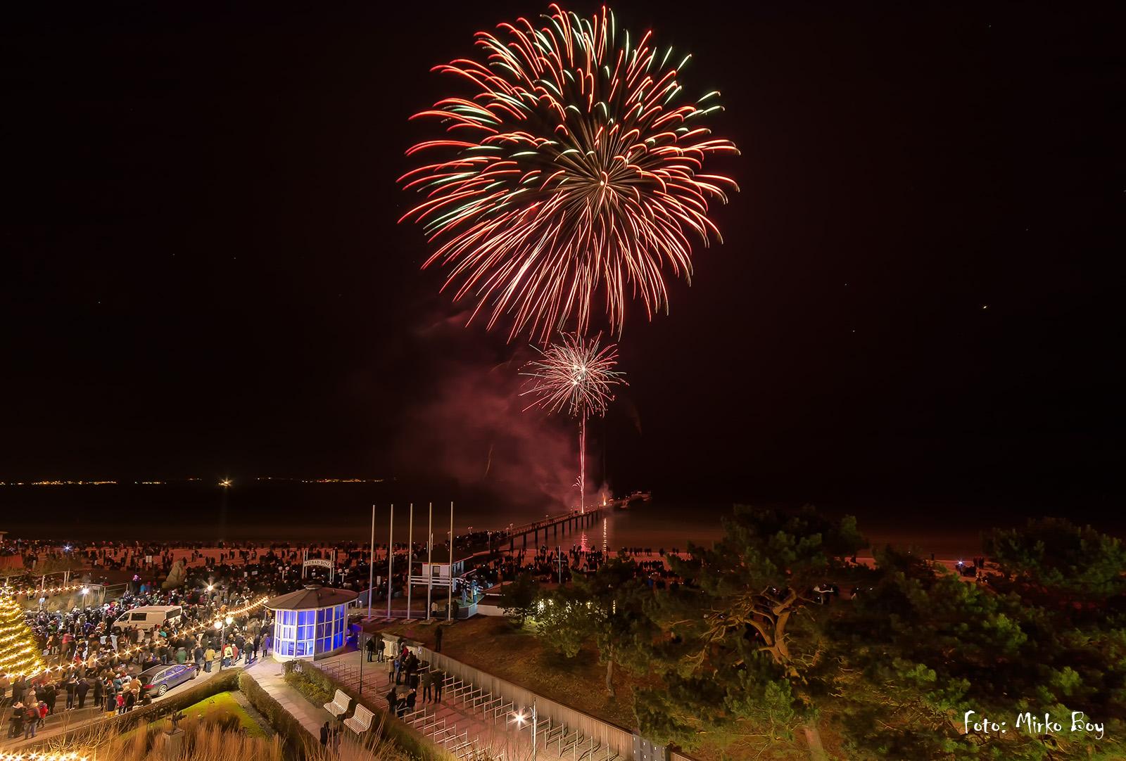 Silvester Feuerwerk Binz - Fototouren