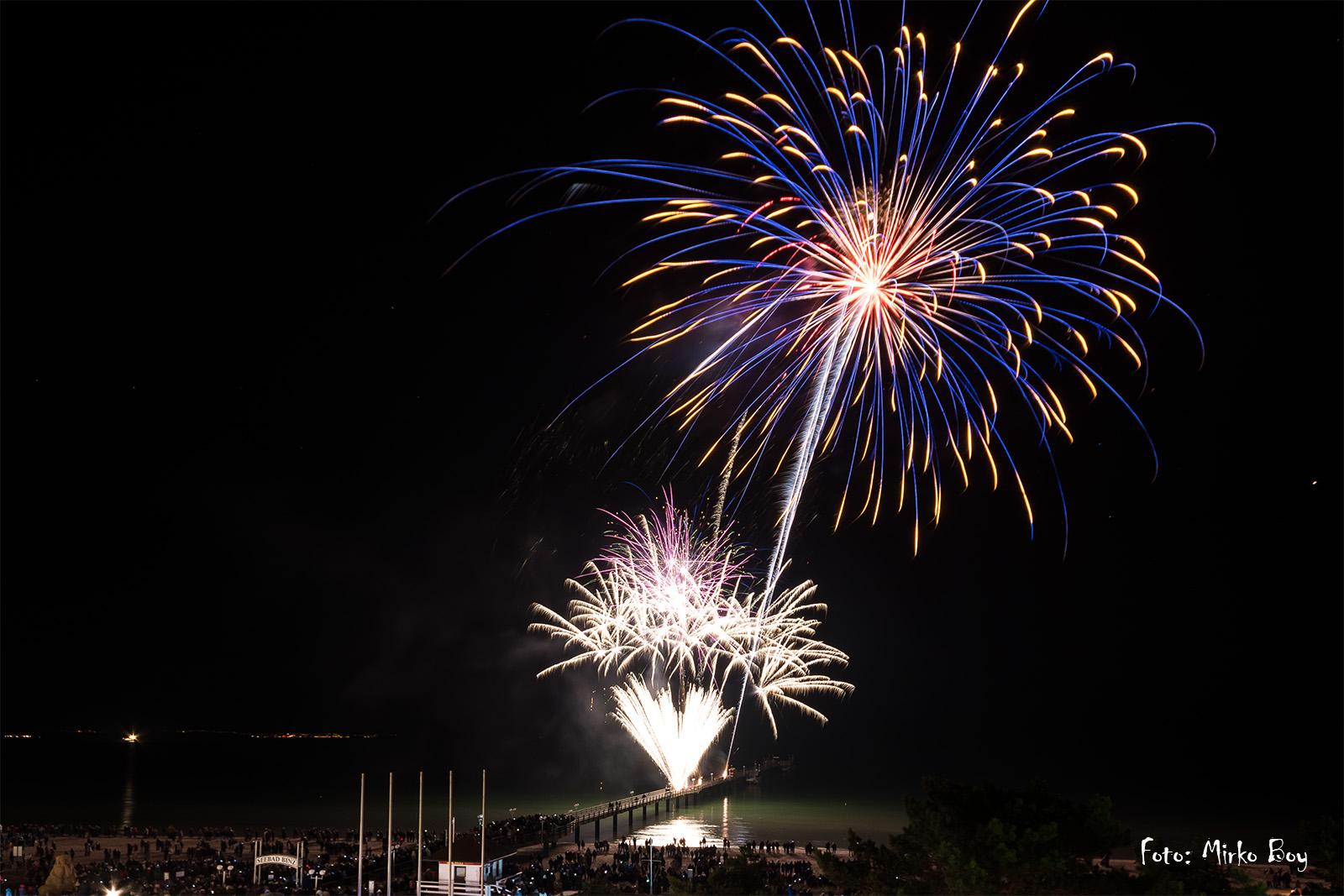 Silvester Feuerwerk - Fototouren