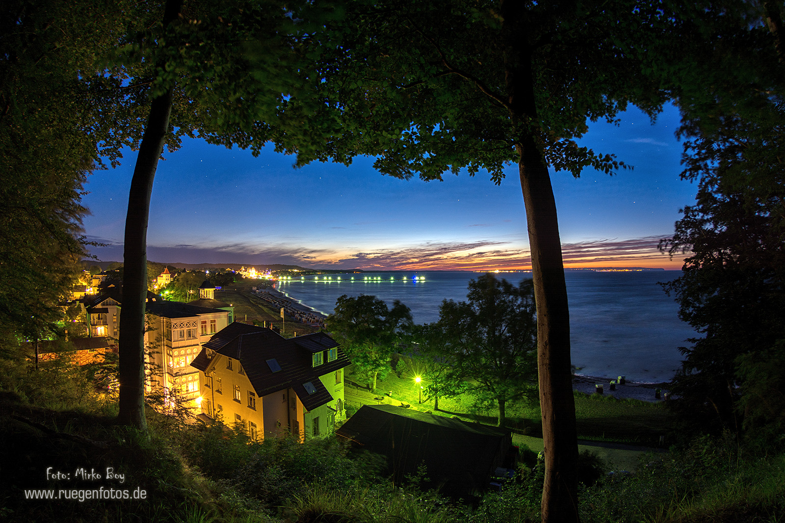 Binzblick bei Nacht - Fototouren