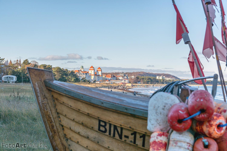 Binzer Fischerboot - Fototouren