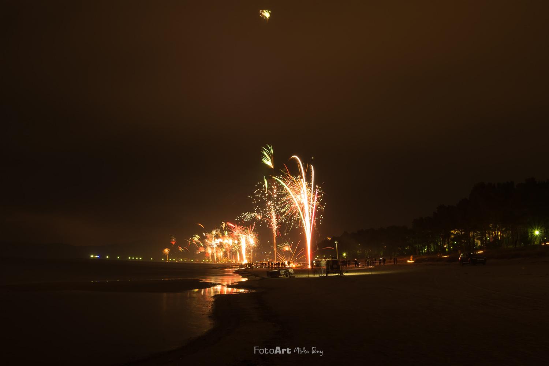Strandfeuerwerk in Binz - Fototouren