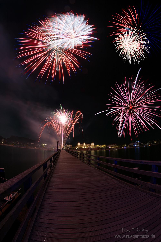 Sommerfeuerwerk in Binz - Fototouren
