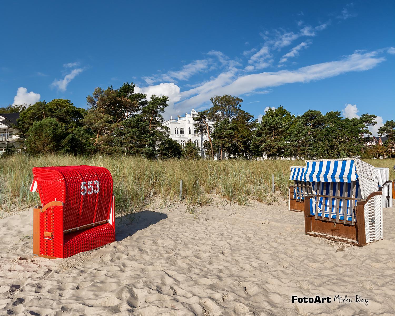 Strandkörbe Dünen Binz - Fototouren