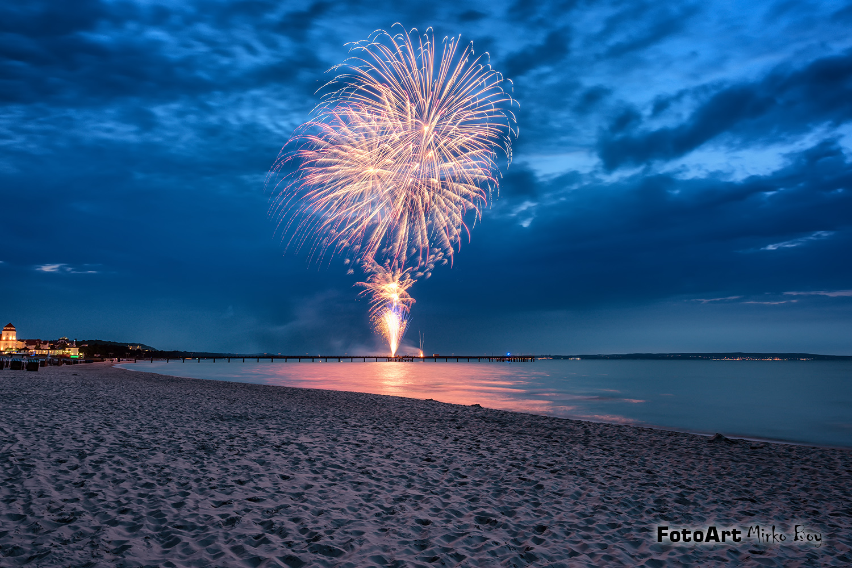 Sommer Feuerwerk Binz - Fototouren